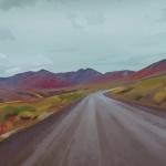 Google Street-View Landscape Sketches