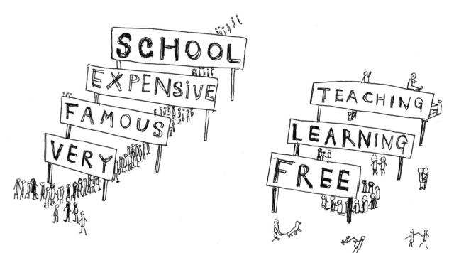 SFPC, pedagogy sketch