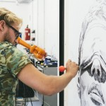 Long Distance Art – One artist, two robots and three paintings in Vienna, Berlin and London
