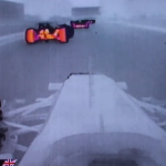 Thermal imaging casts Formula 1 crash in very different light