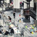 """KIKK invited Niklas Roy to give a workshop in Namur around the theme """"Next Utopia"""""""