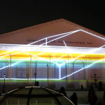 """Continuum – Projection mapping on Manege by Stain / Moscow """"Circle of Light"""""""