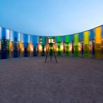 Olafur Eliasson – Colorful pavilion at des moines art center