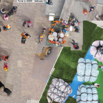 Playground NDSM – Interactive photomontage of 7 years at NDSM-warf / Amsterdam