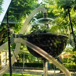 Pneumatic Sponge Ball Accelerator at the Tschumi Pavilion
