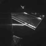 Photo of a spaceship 250 million miles away from Earth