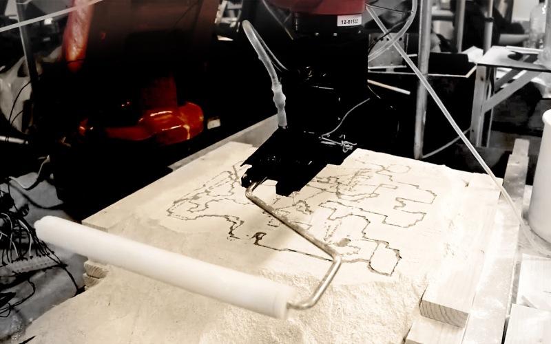 Robotic Fabrication - GAD/RC4 //  Team Microstrata: Wonil Son, FaFame Boonyasit, Maho Akita & Syazwan Rusdi