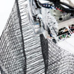 Mesh Mould – Spatial robotics and designing for material interdependencies