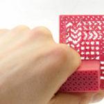 Metamaterial Mechanisms – 3D Grids with Mechanical Properties