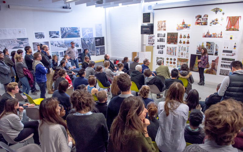 Open Crits, Architecture Year 3 and Year 5 held in Room GO2, Bartlett School of Architecture,140, Hampstead Road by