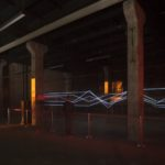 Powerline – Audio reactive 'short circuit' installation by VOLNA