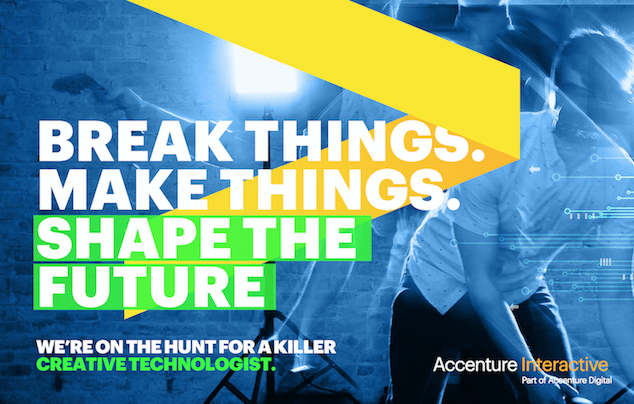 Creative Technologist At Accenture Interactive Austin Tx United