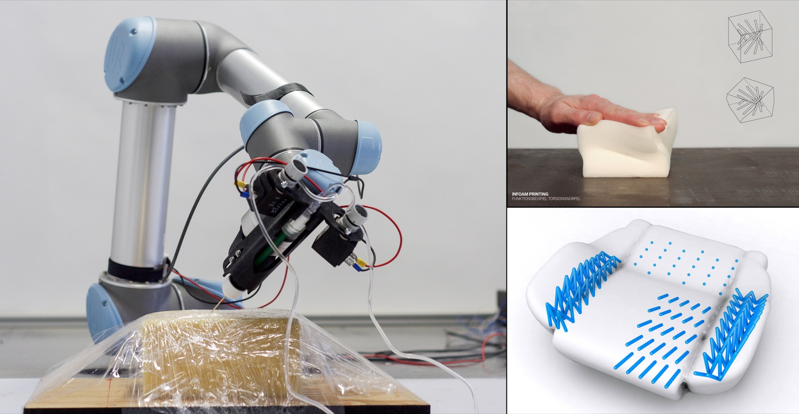 InFoam Printing – 3D printing smart foam elements