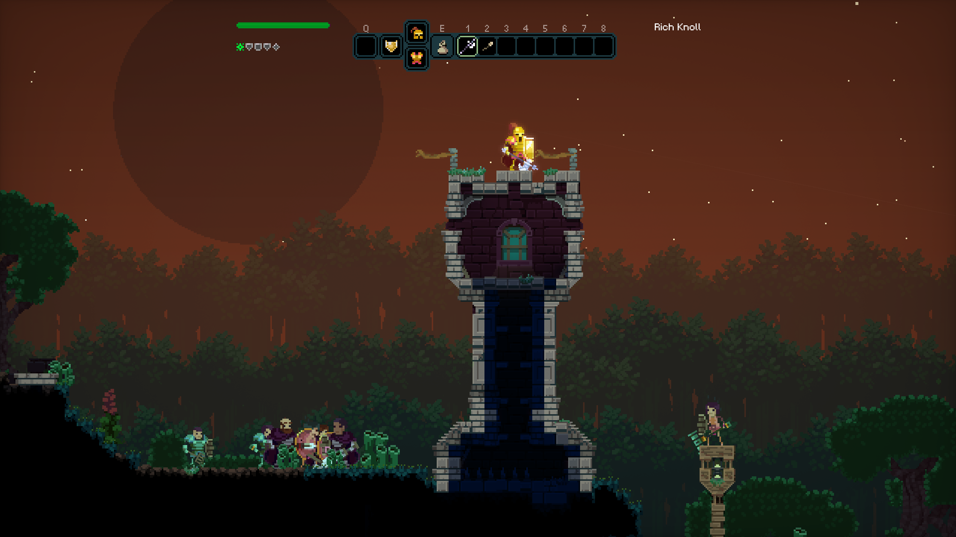 MoonQuest – Procedurally generated adventure game by @eigenbom