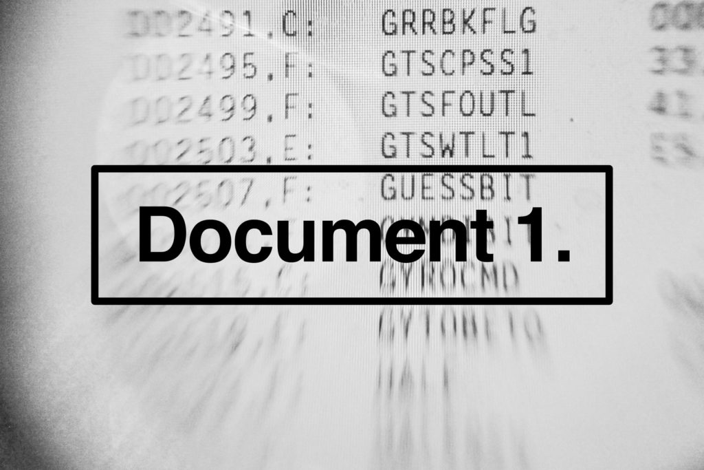 Document 1. – CAN's new event series <br>examines cross-disciplinary practice