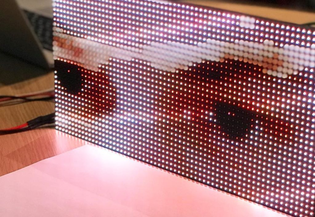 Physicalising a Pixel – LED Matrix Display Tutorial / Document 1. Workshop