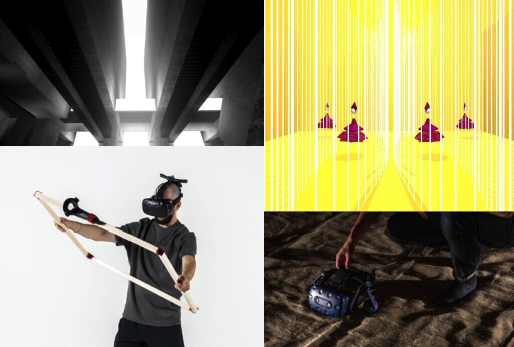 VR Projects @ ECAL MID 2020 – Object, Body, Movement and Environment