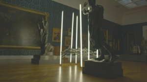 Cryptid – Animatronic light sculpture by Michael Candy
